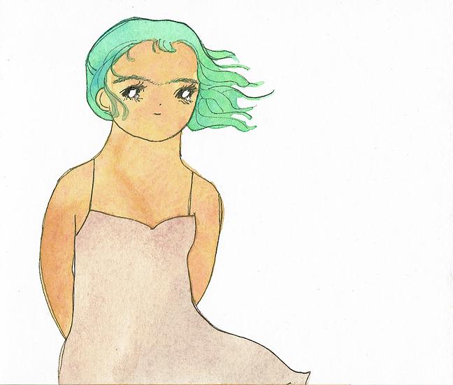 Summer Dress A5 Print