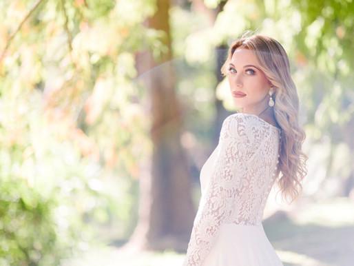 8 Elegant Wedding Dresses with Long Sleeves We Believe You'll Love