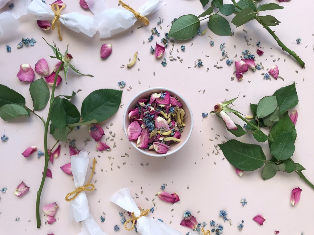 make your own confetti from petals TIPS FOR WHAT TO DO DURING LOCKDOWN WHEN PLANNING YOUR WEDDING