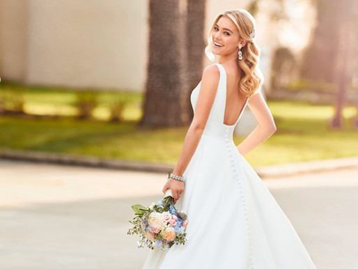 The Best Wedding Dress Styles for a Short Bride
