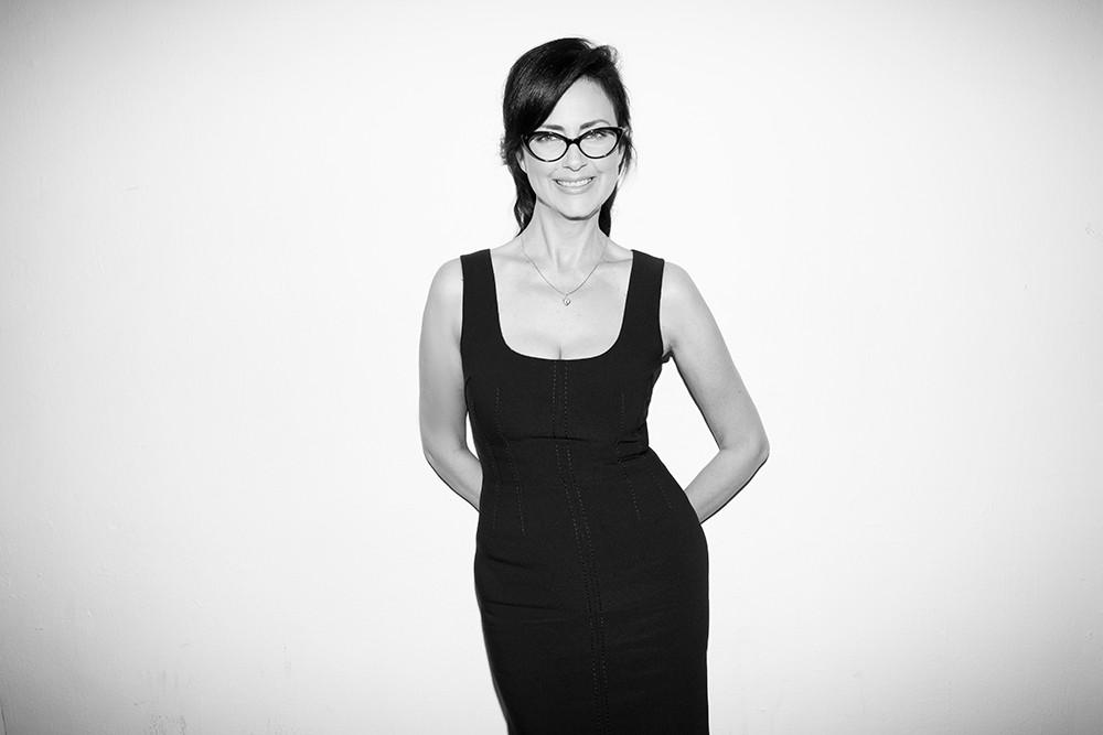 Berta Balilti black and white photo
