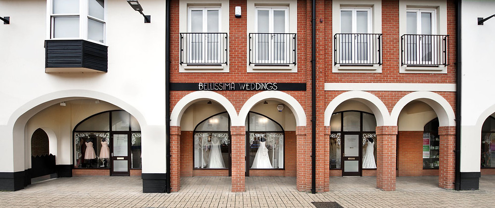 bellissima weddings bridal shop in Essex