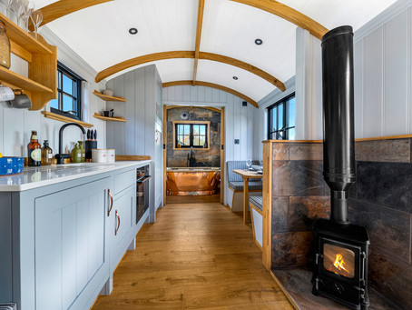 The Ultimate Glamping Experience - Commercial Photoshoot for Dicky Deans Shepherd's Huts