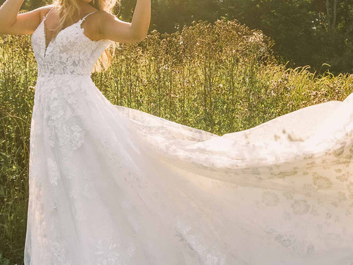 9 Beach Wedding Dresses That are Ideal for a Destination Wedding