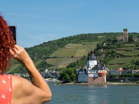 Pfalz Island, Rhine, Germany