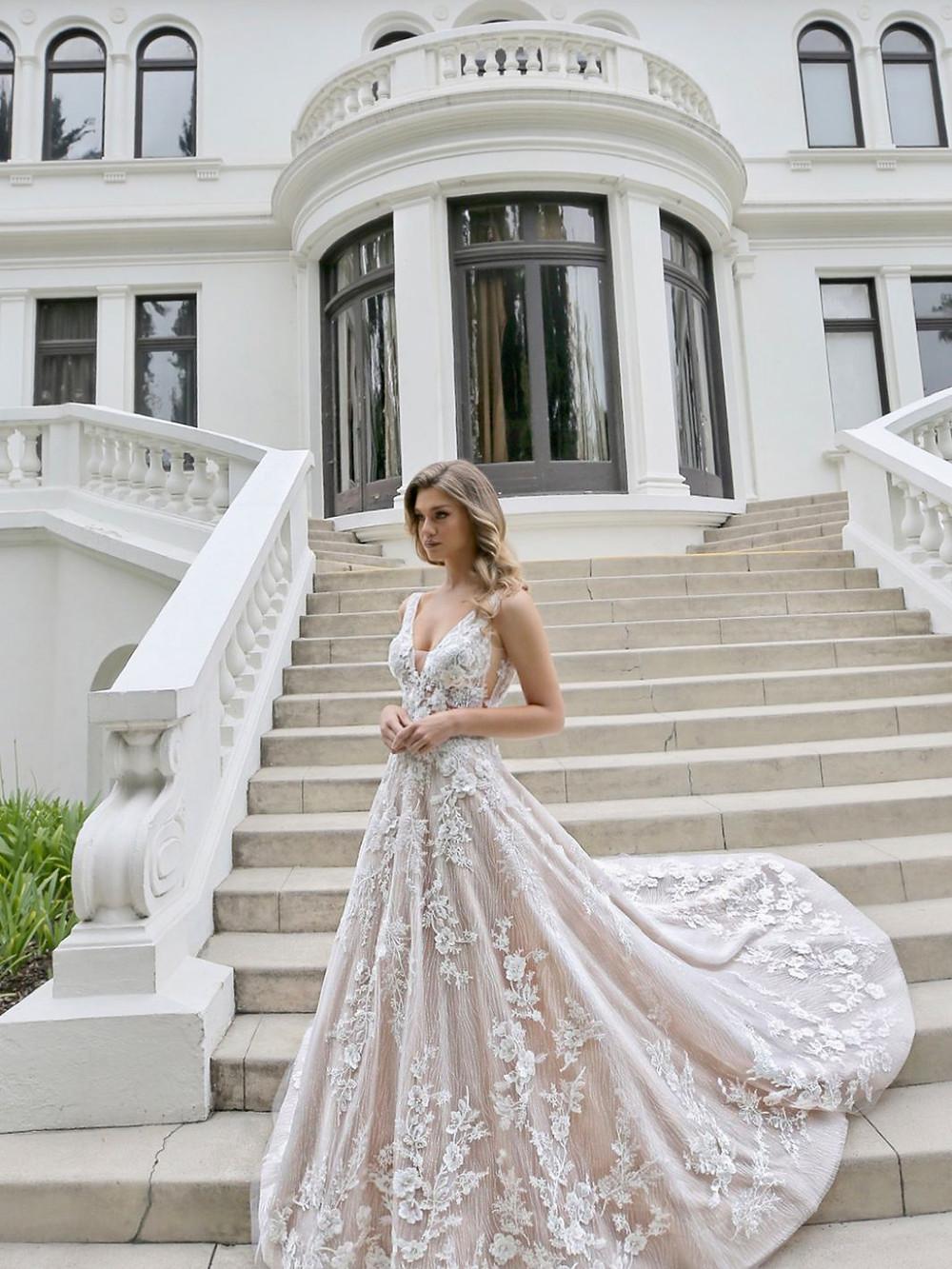 beautiful a-line wedding dresses