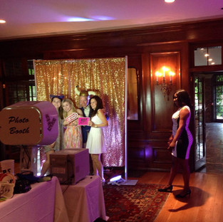Icon DJs Photo Booth Set Up