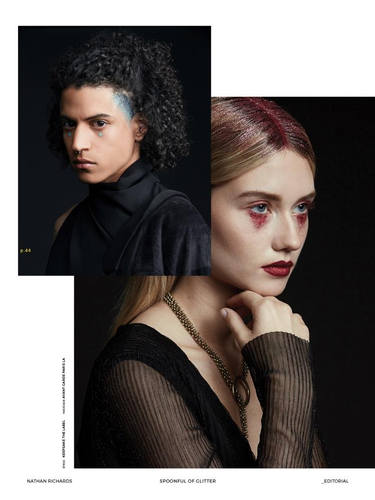 Joseph Louis/ Elly Noah for Editorial QC Magazine Photo: Nathan Richards