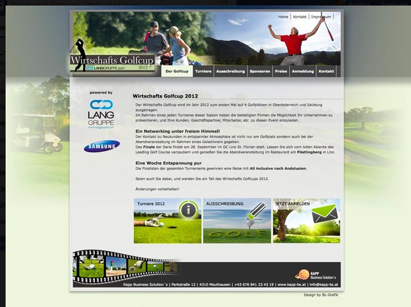 Website Wirtschaftsgolfcup