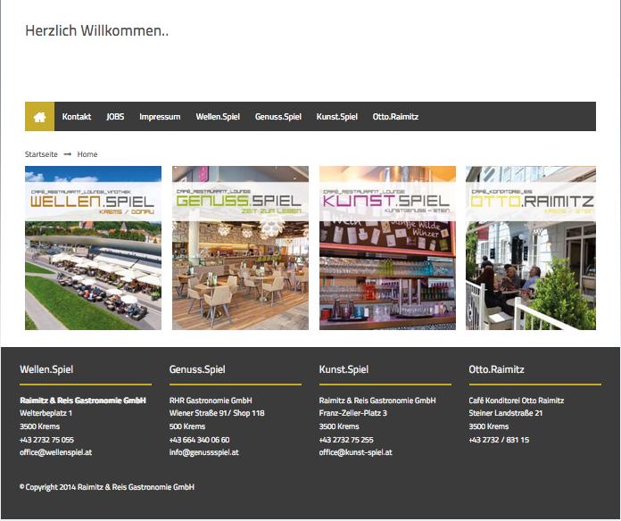 Website Wellen.Spiel