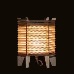 Lámpara Hexagonal