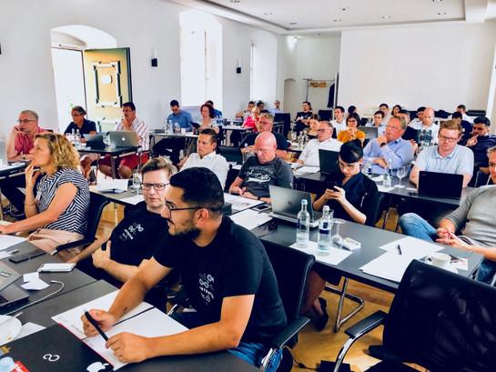 Participants of ASTRATUM's Blockchain Summer School