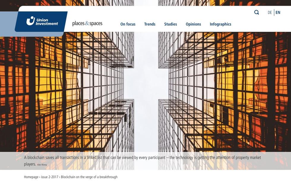 Union Investment places&spaces