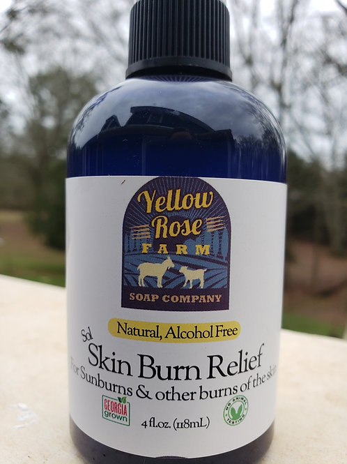 Skin Burn Relief Spray: Sol