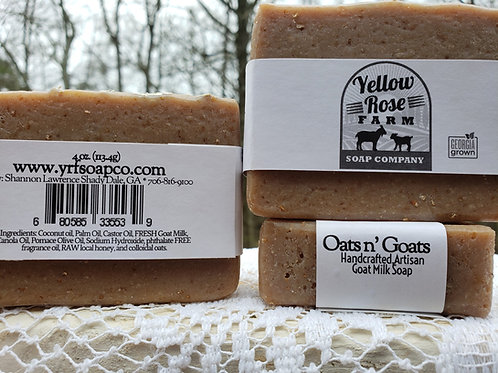 Oats n' Goats Soap Bar