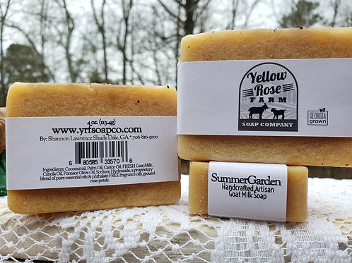 Summer Garden Bar Soap