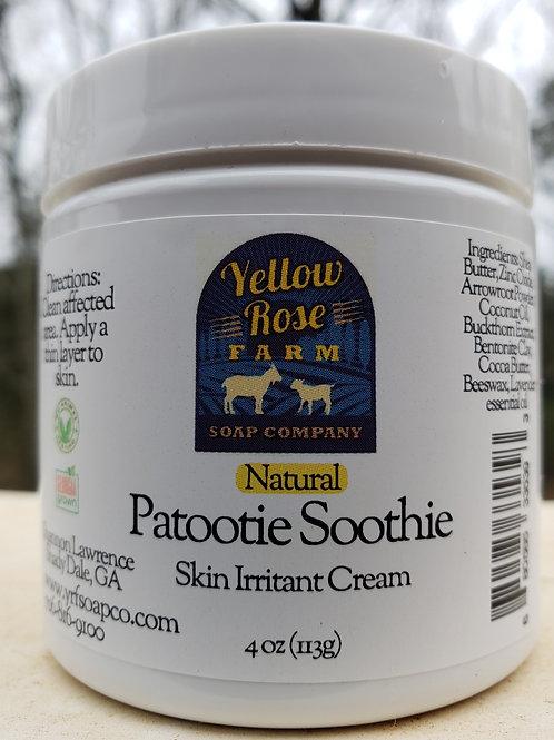 Patootie Soothie: Skin Irritant Cream