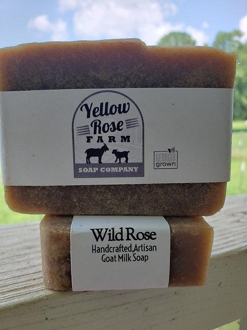 Wild Rose Soap Bar
