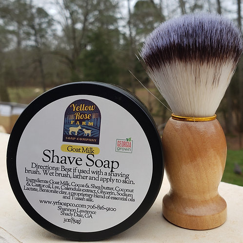Shave Soap-Natural Goat Milk