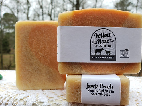 Jawja Peach Soap Bar