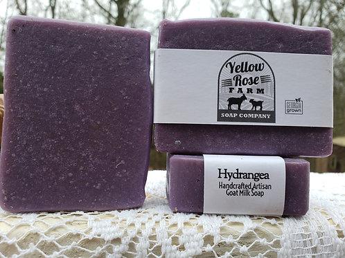 Hydrangea Soap Bar