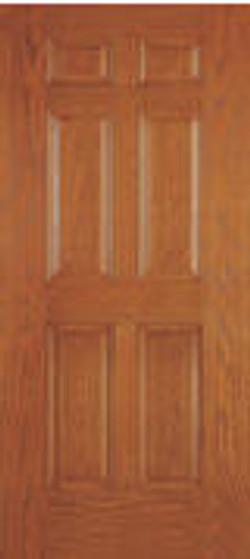 six panel utility door