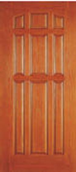 nine panel door