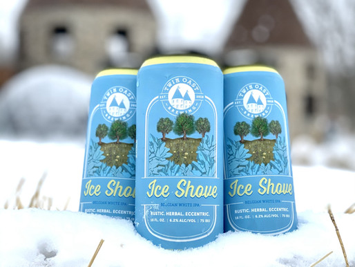 RELEASE ALERT: Ice Shove Gives Patrons First Taste of Spring | Twin Oast