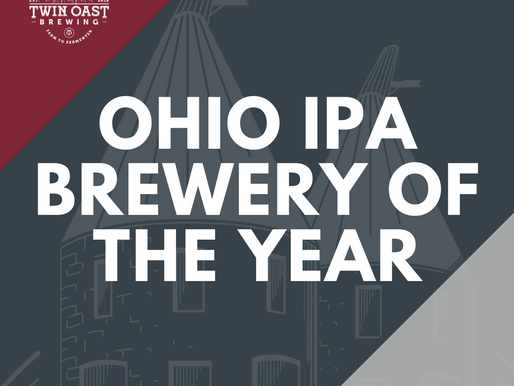 Twin Oast Named Ohio IPA Brewery of the Year
