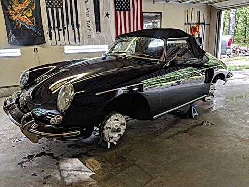 1962 Porsche 356 B S90 Roadster