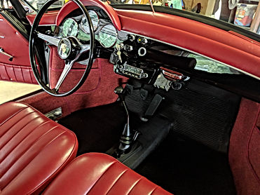 Porsche 356B S90 Roadster interior