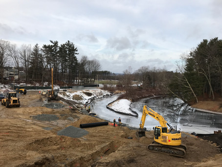 NH Work Carries on Despite New England Storms