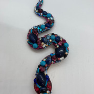 Broche serpent