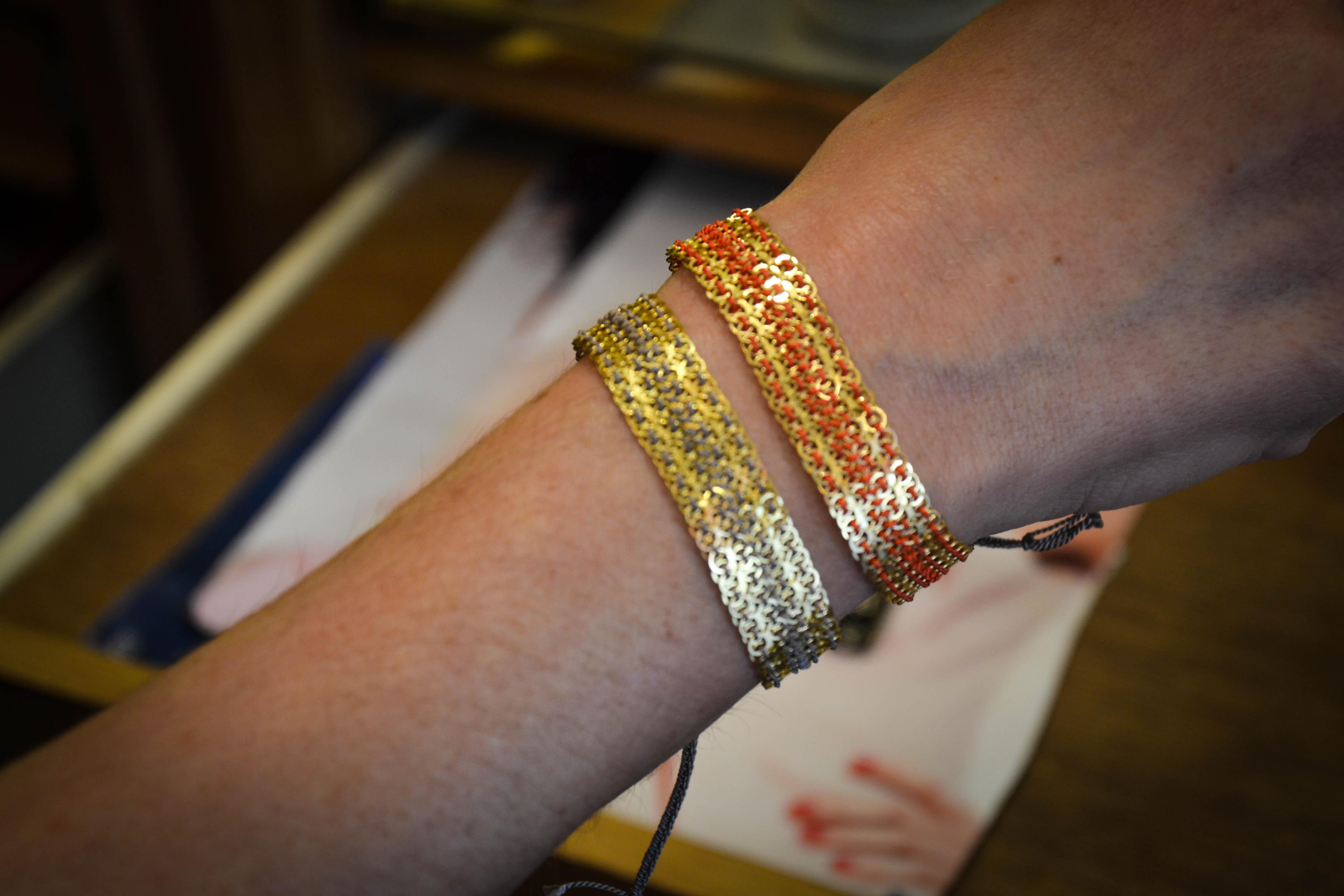 Bracelets pour l'été
