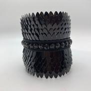 Manchette couleur noire