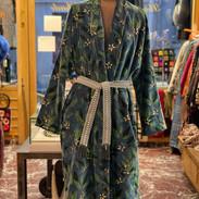 Manteau velours handmade
