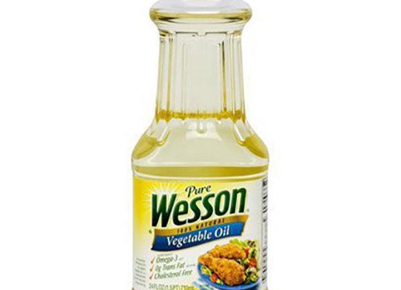 Aceite Vegetal Wesson 24oz