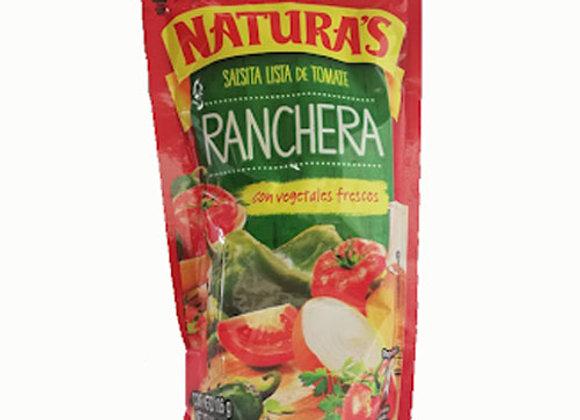 Salsa de Tomate Ranchera Natura 210gr