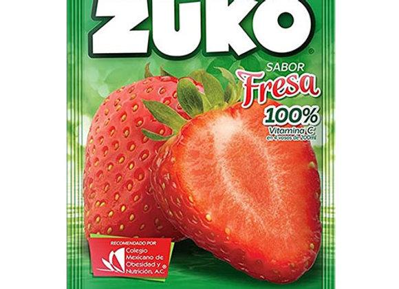 Jugo Instantaneo Sabor Fresa Zuko 25Gr