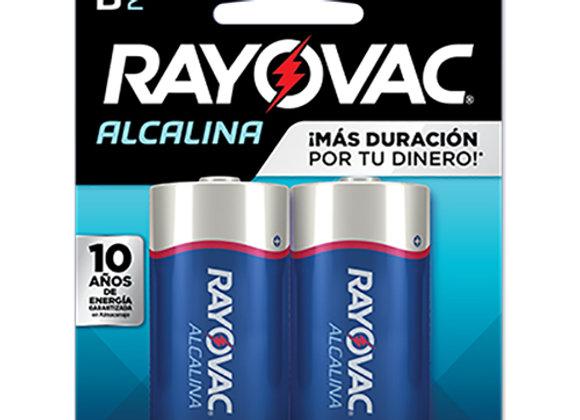 Baterias D Rayovac Alcalina