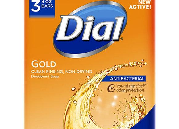Jabon de Bano Gold 3 Barras Dial