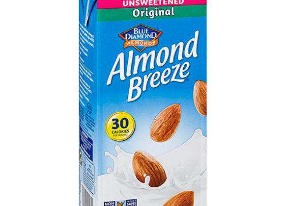 Leche de Almendras Unsweetened Original Almond B 32oz