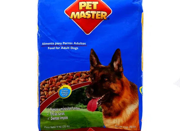 Comida para Perros 20lbs Petmaster