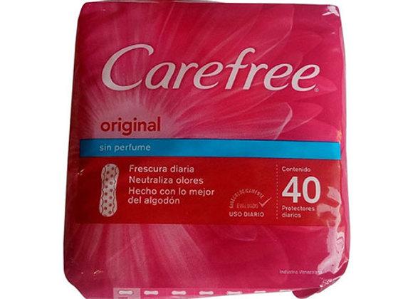 Diarias Carefree Original 40 Paquete