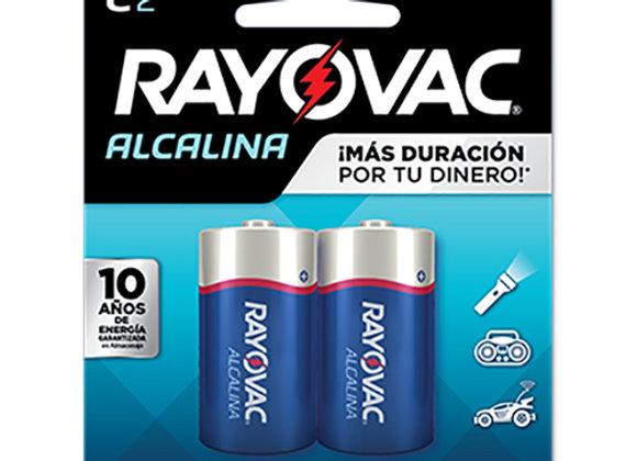 Bateria Tipo C Rayovac Alcalina