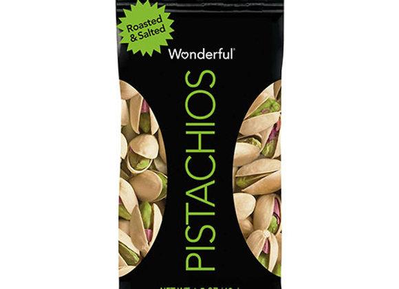 Pistachos Roasted Salted Wonderful 1.25oz