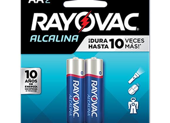 Bateria AA Rayovac Alcalina