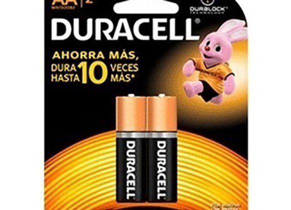 Baterias Tipo AA Duracell