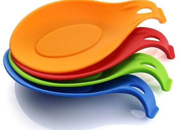 Apoya Cucharas de Silicona para la Cocina