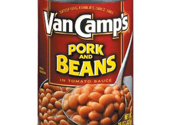Pork and Beans Van Camps 15oz